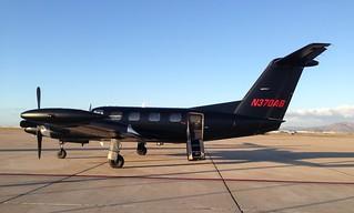 N370AB Piper PA-42 Cheyenne 4. Brown Field, San Diego CA