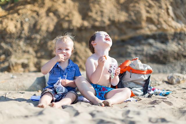 Beach life, Compton Bay, Isle of Wight - IMG_2052