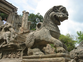 The Yapahuwa Lion stone sculpture