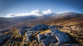 The Carneddau Range from Craig Cefn Coch, Snowdonia | by erwlas