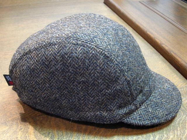 ENISHI Hand Made Cycle Cap  ツイード ヘリンボーン ( tweed-herringbone) → SOLD OUT