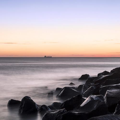sunset seascape day clear idroscalo ostialido lidodiroma mygearandme