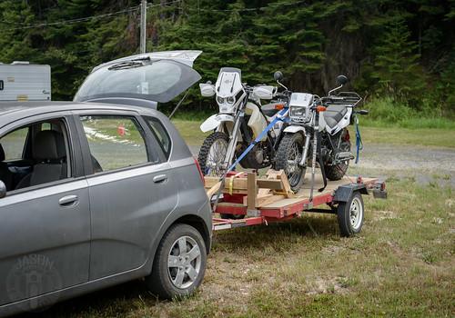 idaho motorcycle pierce rvpark yamahatw200 ktm500xcw