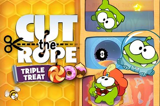 Cut the Rope: Triple Treat 3DS Release | by BagoGames