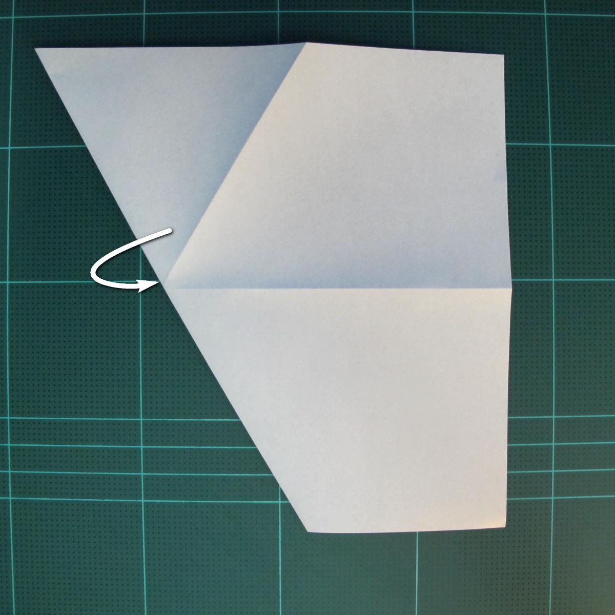 วิธีการพับกระดาษเป็นรูปกบ (แบบโคลัมเบี้ยน) (Origami Frog) 009