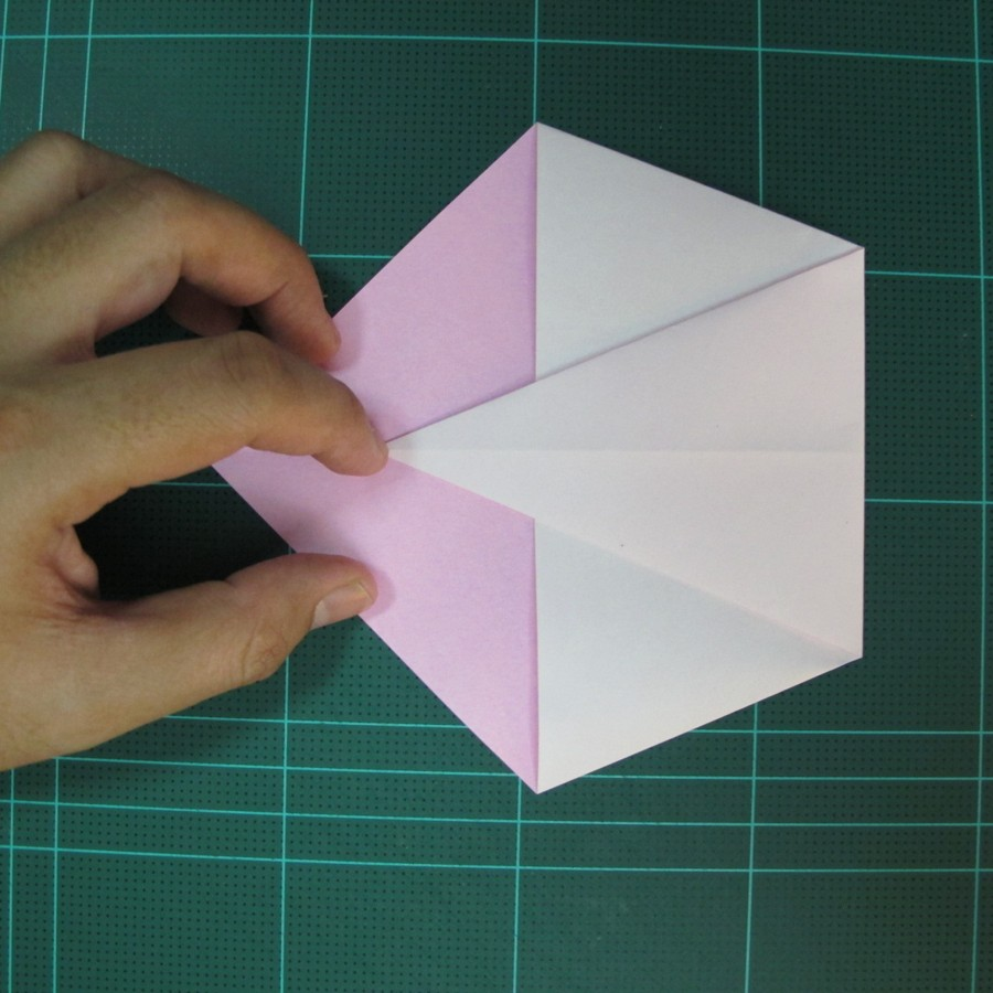 วิธีพับกระดาษเป็นรูปเครื่องบินแบบบินไกล (SST Origami Airplane) 006