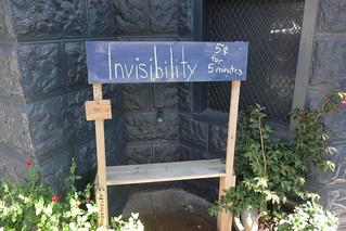 invisibility | by garann