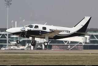 PIPER PA31 T1-500 Cheyenne I T7-ISA Entzheim mars 2014