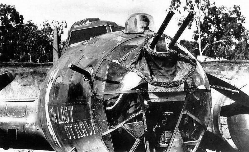 B-17 gun turret