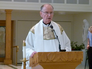 Liturgy of the Word: Father Yahner reads Mark 6:7-13   by Dominican Sisters of Peace