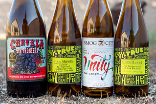 Beers from Highland Park Brewery, Smog City, Crooked Stave and Jester King | by fourbrewers