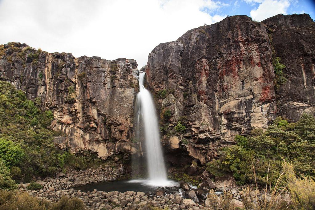Taranaki Falls, Tongariro National Park, New Zealand | Flickr