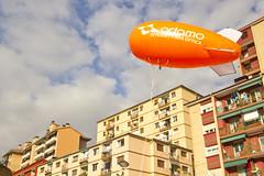 Zeppelin en la plaza de San Pelayo