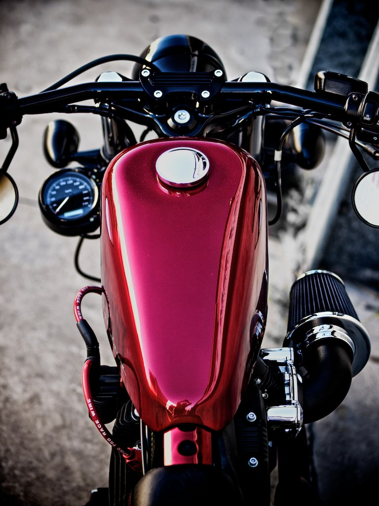 Cool Harley Davidson Custom Sportster 48 Olympus Digital Flickr