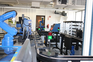 Manchester Community College Automation and Robotics/Mechatronics teaching lab and programs | by AMPedNH