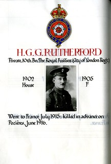 Rutherfurd, Henry George Gordon (1885-1916) | by sherborneschoolarchives
