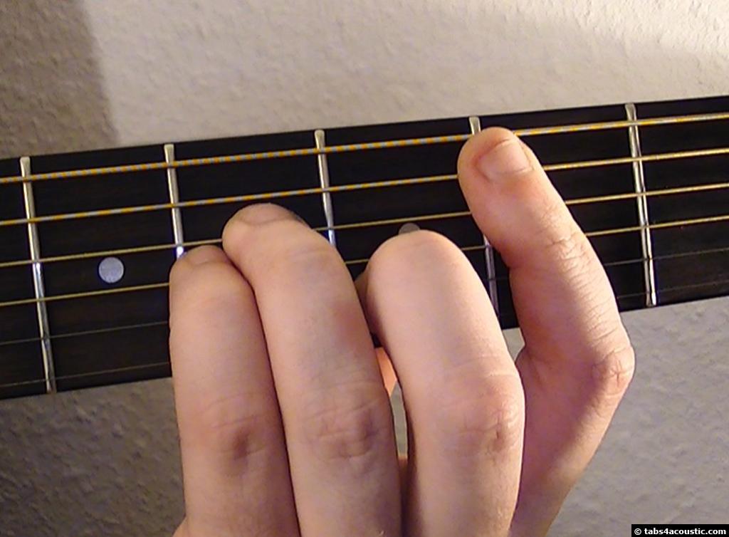 accord guitare noel