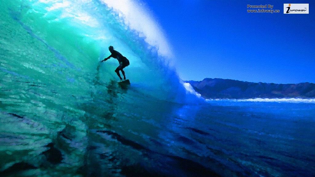 Sports Sports Surfing Waves Wallpaper Sport Alana Blanchar