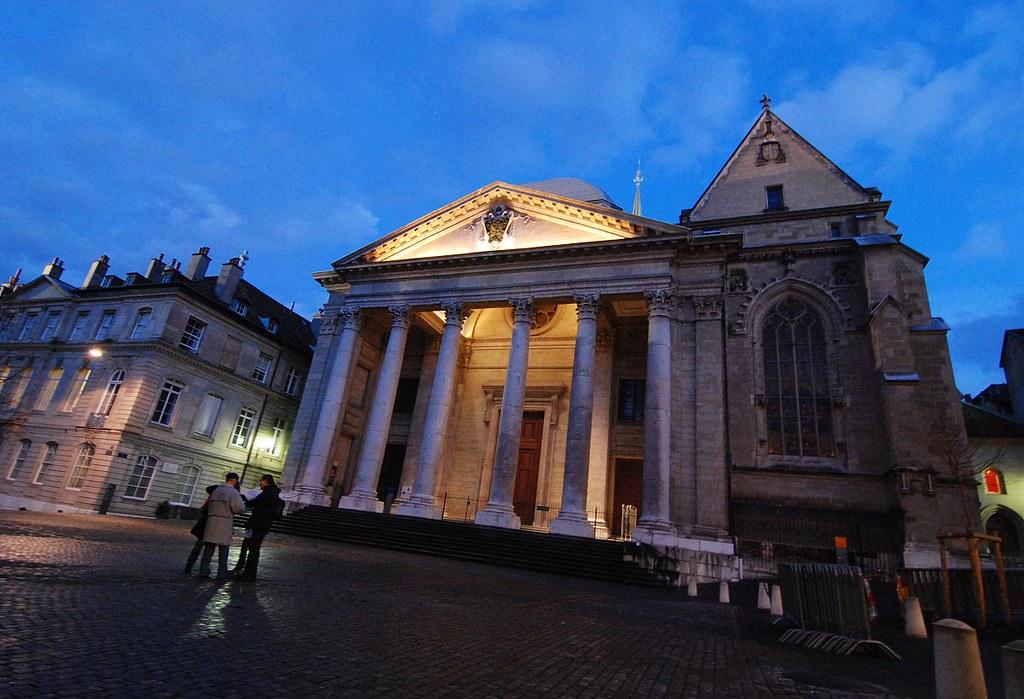 Ženeva - katedrála sv. Petra