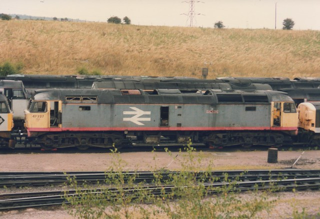 Withdrawn Railfreight Red Stripe Class 47/0, 47227