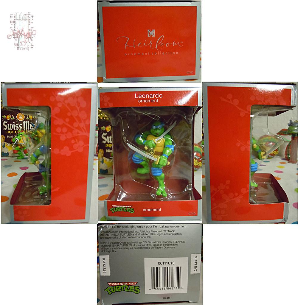 """AMERICAN GREETINGS :: TEENAGE MUTANT NINJA TURTLES - """"Leonardo"""" Ornament iii / ..box (( 2013 )) by tOkKa"""