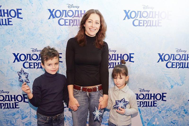 FROZEN_Moscow Premiere_Ekaterina Volkova s det'mi