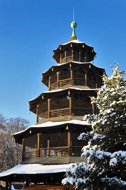 Christkindlmarkt Chinesischer Turm