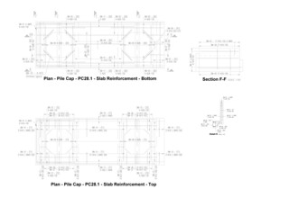 Pile cap Rebar detailing | Architectural drafting1 | Flickr