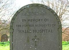 Former Residents of Hales Hospital