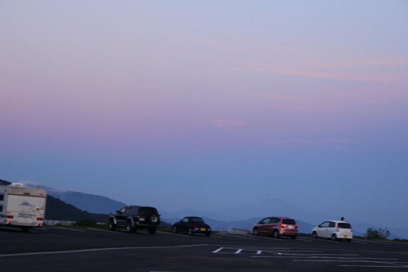 早朝の須川温泉