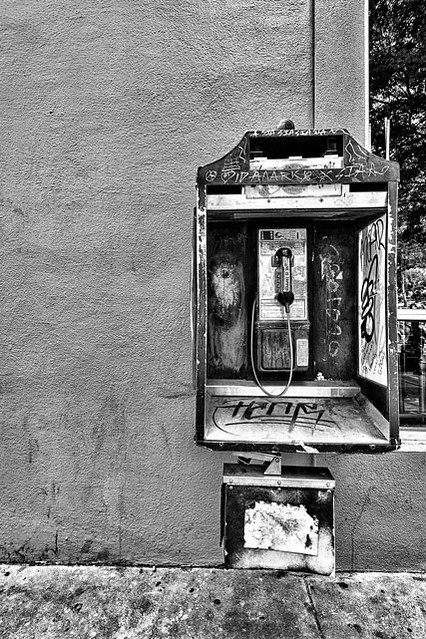 Pay Phone, 3rd Street S.