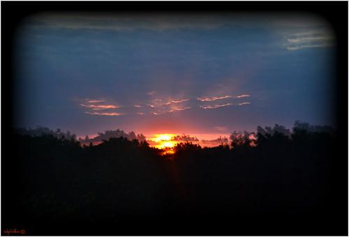 sunsunsetskycloudsreflections