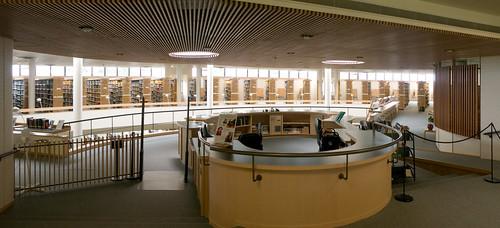 wood light abbey architecture modern angel oregon finland concrete daylight natural interior library skylight mount architect 1970 finnish aalto scandinavian alvar