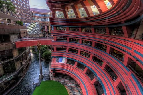 Futuristic Complex in Hakata