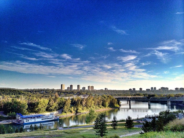 Evening in Edmonton