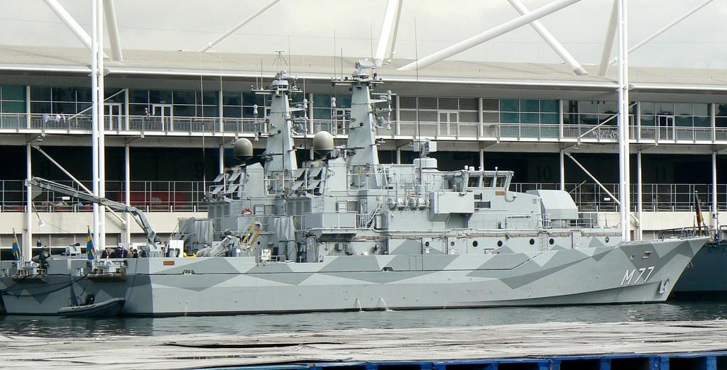 HSwMS Ulvon M77 @ Excel 12-09-13