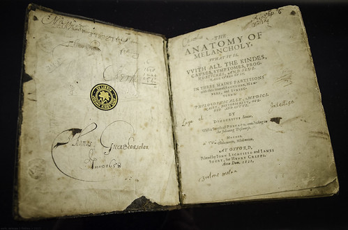 The Anatomy of Melancholy, by Robert Burton.1621 edition. | by eric arnau