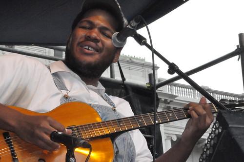 Blind Boy Paxton at Crescent City Blues & BBQ Fest. Photo by Kichea S Burt.