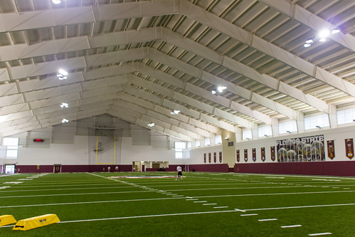 Inside the 92,000-square foot Albert J. Dunlap Athletic Training Facility in Tallahassee, Florida on October 8, 2013. | by flguardian2