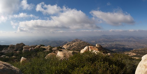 193 Panorama view west from the summit of El Cajon Mountain | by _JFR_