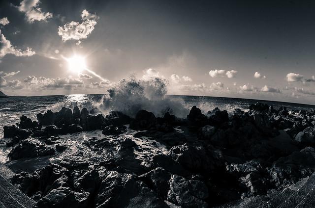 waves breaking.  (24/365)