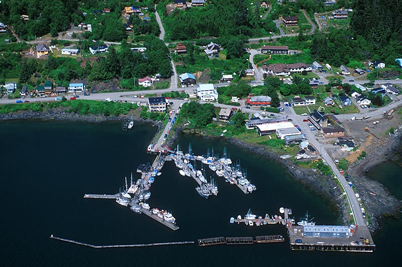 Queen Charlotte City, Graham Island, Haida Gwaii (Queen Charlotte Islands), British Columbia, Canada
