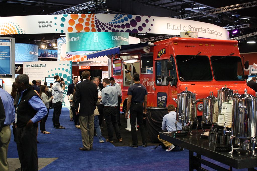 IBM Pulse Food Truck System x and PureFlex Pics   #IBMX6