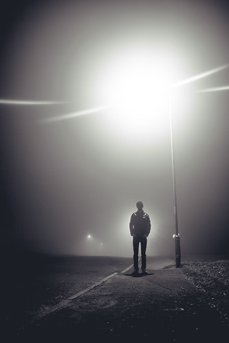 A Man In Fog | by Ben K Adams