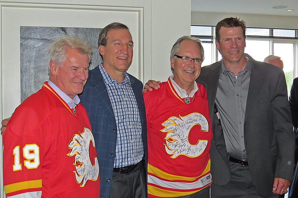 Al Coates Tim Hunter Rick Skaggs And Joel Otto Calgary F Flickr