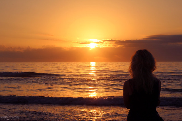 Looking East - South Padre Island Sunrise, Texas