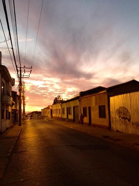 Entre los cerros Larraín y Barón, Valparaíso
