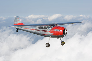 Vintage: Celebrating its 70th birthday, the classic Cessna 195 Businessliner will be well represented at Oshkosh in 2017.