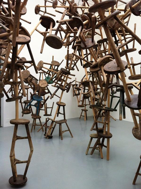 Ai Wei Wei at Biennale di Venezia 2013.