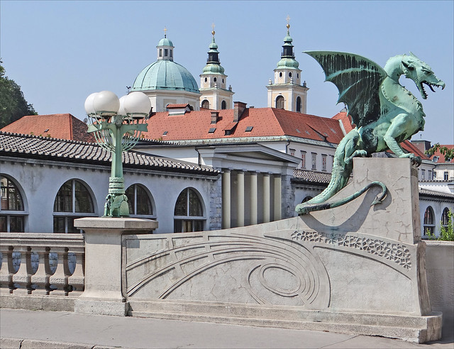 L'art nouveau à Ljubljana